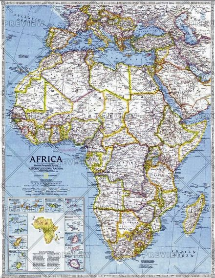 Africa - Published 1990 by National Geographic